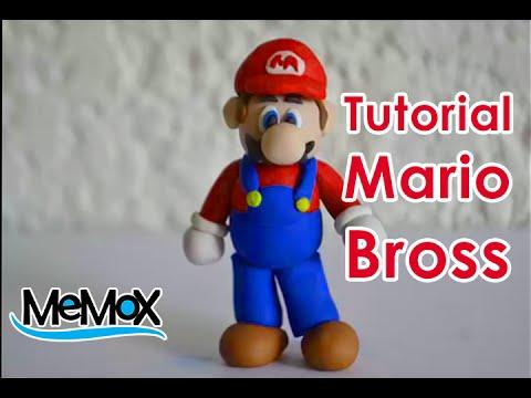 Tutorial- Como hacer a super Mario Bross de plastilina