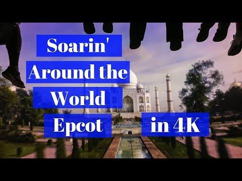 Soarin' Around the World Epcot Full Ride POV 4K
