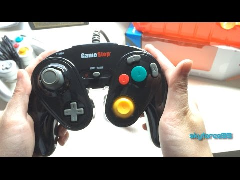 GameStop Chameleon Gamecube controller Unboxing