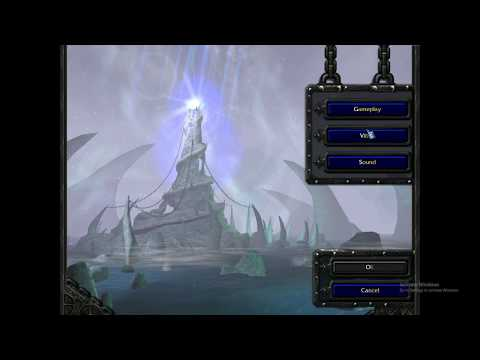 Warcraft III Black Menu Screen Fix (Win10)