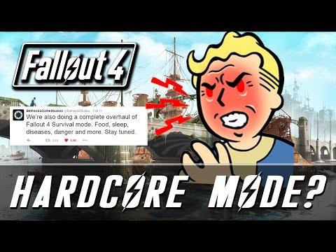 Fallout 4 | Hardcore Mode Happening?! | Revered Legend