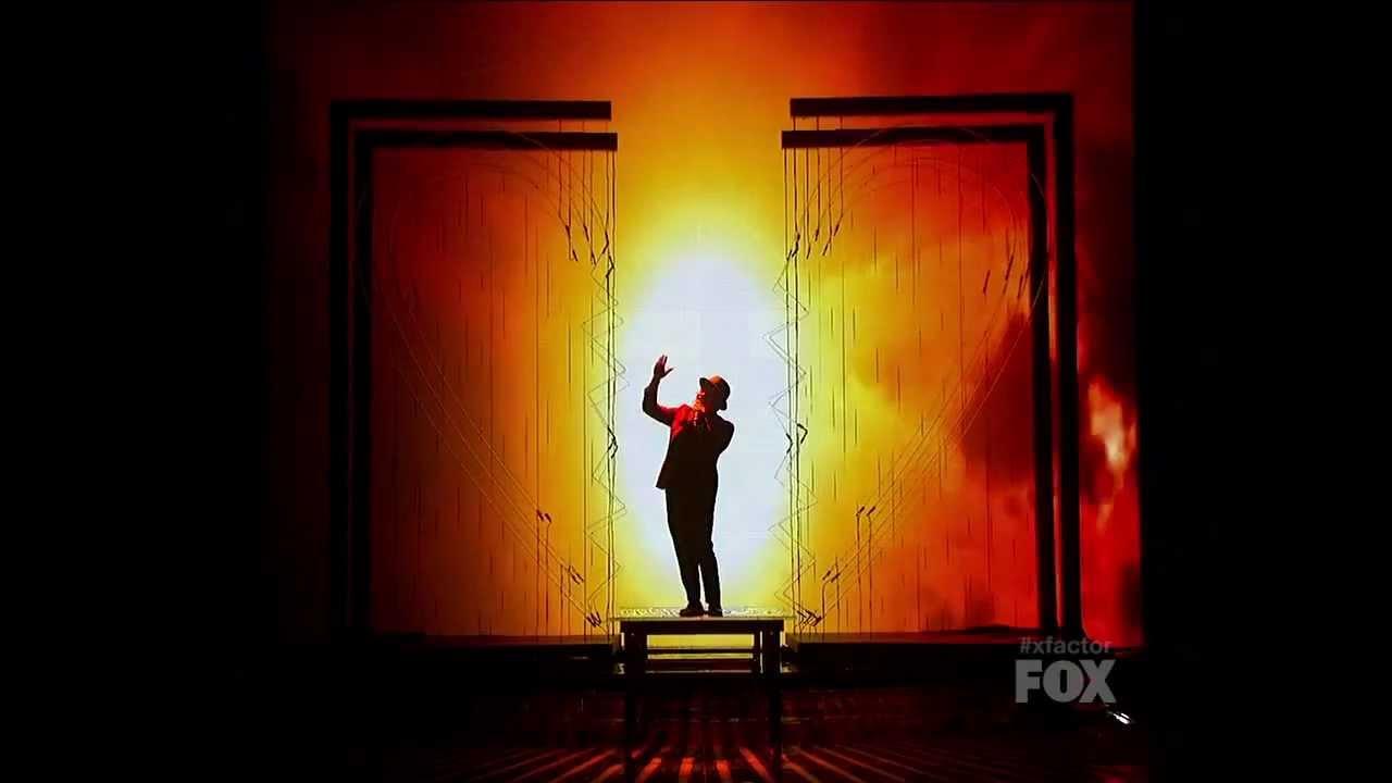 Bruno Mars - It Will Rain (Live at The X Factor USA 2011)