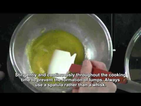 eggs scrambled double boiler