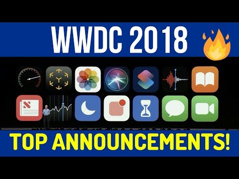 Top Announcements of WWDC 2018 | Hindi