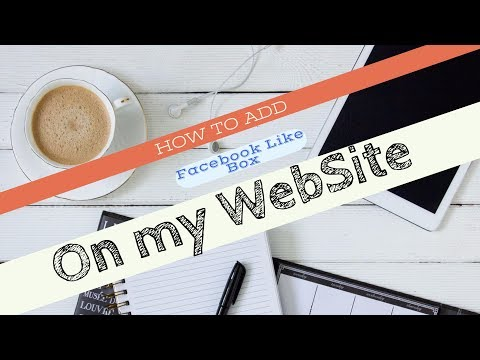 How to add Facebook page like box on my website