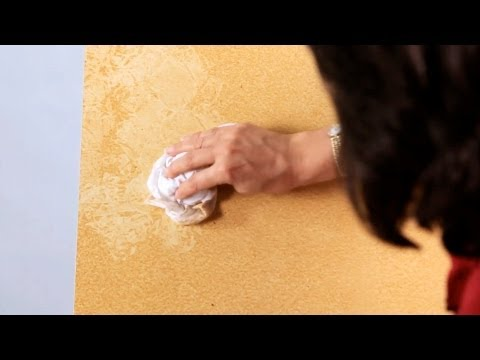 How to Rag Paint a Wall | Paint Techniques