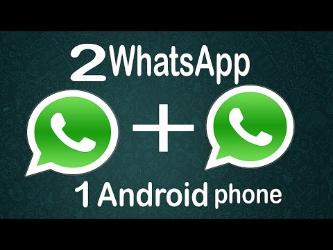 How to install Two WhatsApp on a single Android phone 2016 (without Root)