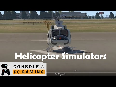 flight simulator - X-Plane 11 Bell 412 Helicopter simulation by X-Trident