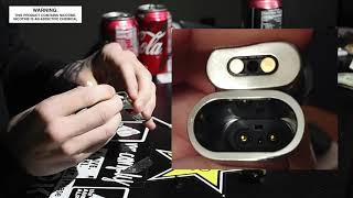 New - How to fix Smok Novo 4 blinking lights and not