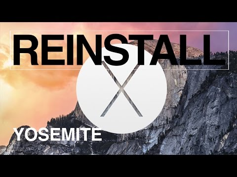 How to Reinstall Yosemite OS X without erasing any files apps Mac