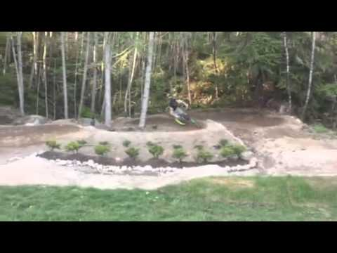 backyard pumptrack