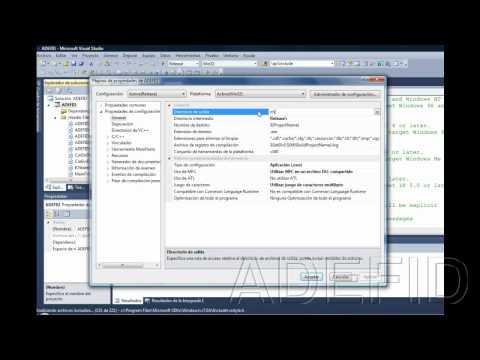 How to upgrade an ADEFID project to Visual Studio 2010