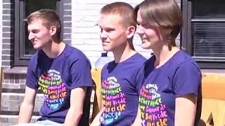 2018-08-07 г. Брест. Работа немецких волонтёров. Новости на Буг-ТВ. #бугтв
