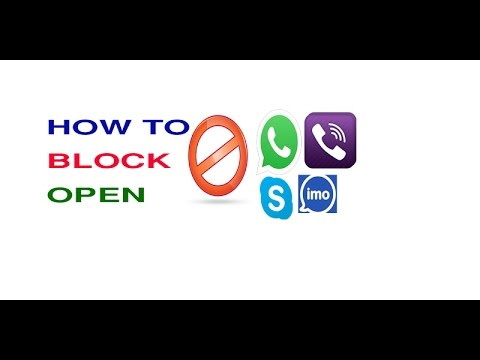 how to unblock viber watsapp skype and imo