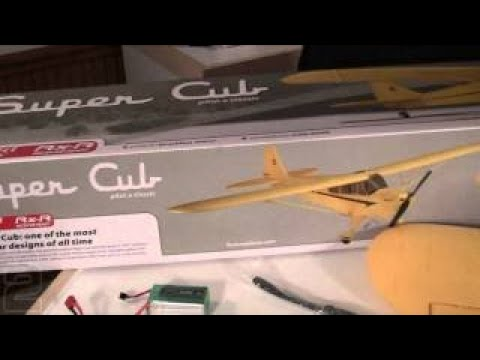 FlyZone Super Cub Select Scale Review - Part 1