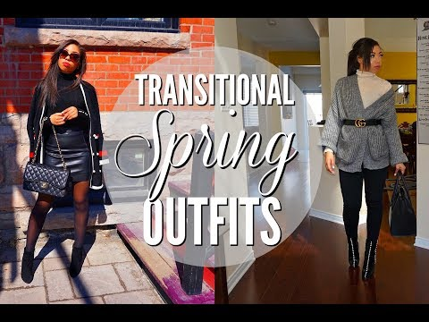 SPRING FASHION TRENDS & HOW TO WEAR THEM | CASUAL SPRING OUTFITS + LOOKBOOK 2018