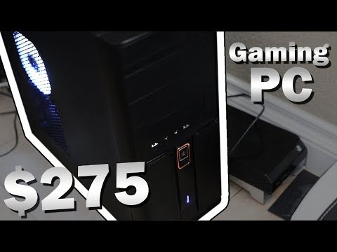 $275 Gaming Computer 2017 - How to Make Money Building Computers