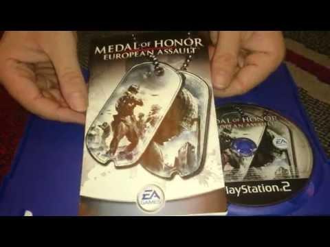 Nostalgamer Unboxes Medal Of Honor European Assault On Sony Playstation 2 UK PAL System Version