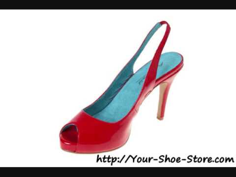 Red Satin Shoes On Sale Now