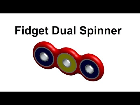 How to Make Fidget Dual Spinner