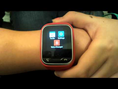 Verizon Gizmo Gadget Watch Phone review unboxing