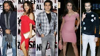 Arbaaz Khan, Ashmit Patel, Manjari Fadnnis At Special Screening Of Movie Nirdosh