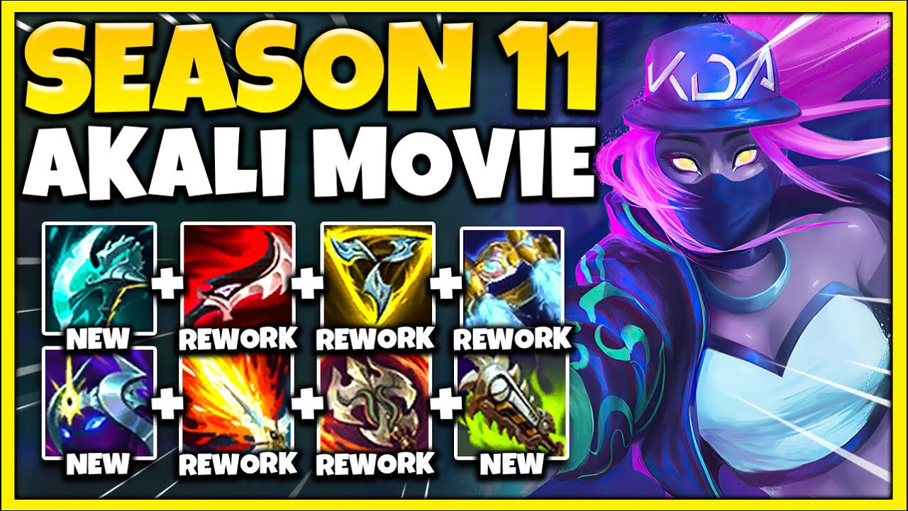 Testing EVERY BROKEN Akali Build in Season 11 [AKALI: THE MOVIE] - League of Legends