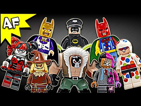 Lego Batman Movie Minifigures 2017 Complete Collection Review