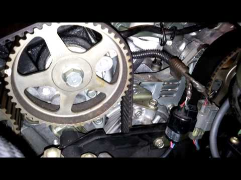3000GT check timing / loose timing belt