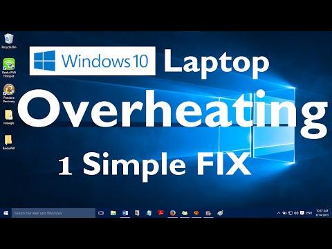 Windows 10 Laptop Overheating Problem - 1 Simple Fix