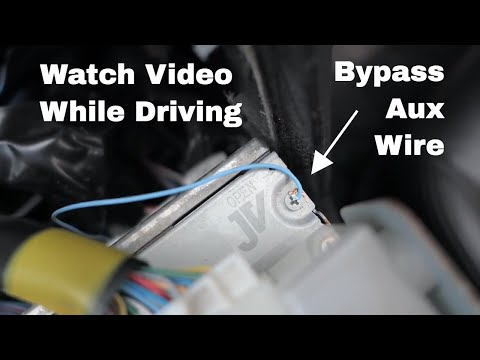 How to Bypass Aux Video Input - Infiniti G35 G37