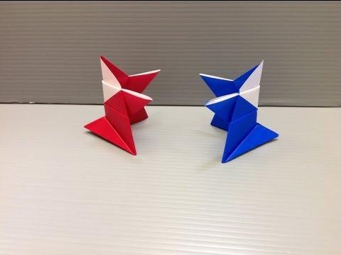 Daily Origami: 111 - Wrestler