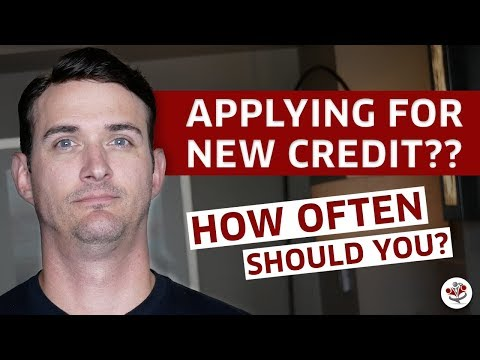 WHEN TO APPLY FOR A NEW CREDIT CARD, MORTGAGE, ETC. (Personal Finance Tricks & Tips)