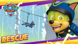 PAW Patrol Mighty Pups Save Jake on the Mountain! ❄️Cartoon and Game Rescue