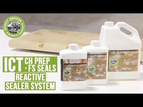 ICT CH Prep + FS Seals Concrete Sealer Application Guide