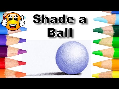 How to Shade a Ball - Pencil Drawing Lessons