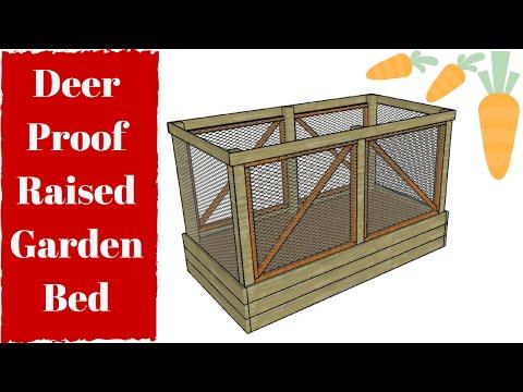 Deer Proof Raised Garden Bed Plans Free