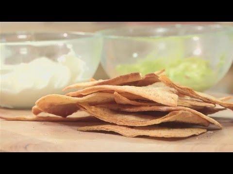 How To Bake Homemade Tortilla Chips