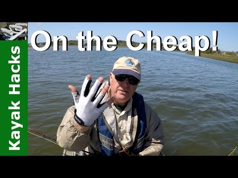 Dollar Store Glove becomes a Fly Fishing Stripping Glove