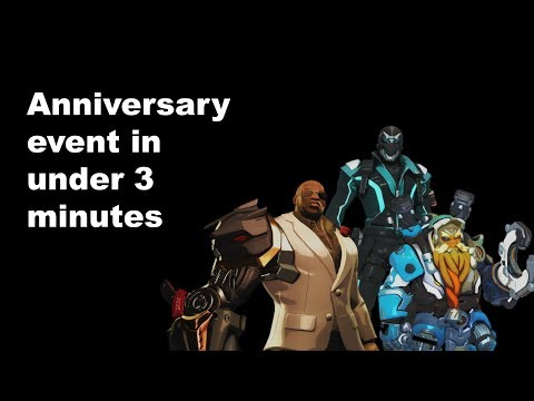 The 2018 Overwatch Anniversary event described in under 3 minutes