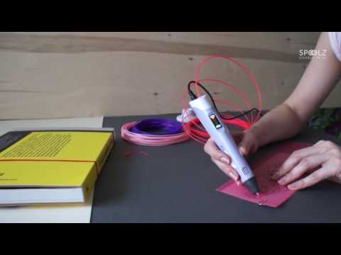 How to make Jewellery using a 3D pen. DOWNLOAD FREE STENCIL EBOOK