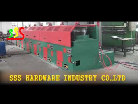 High Quality China Factory DIRECT FEEDING WIRE DRAWING MACHINE