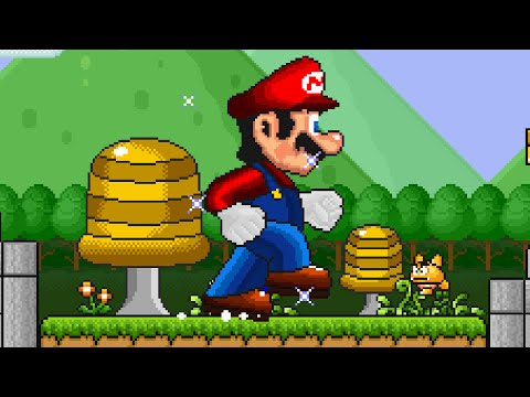 Super Mario Bros. X (SMBX 1.4.1) Custom Level -