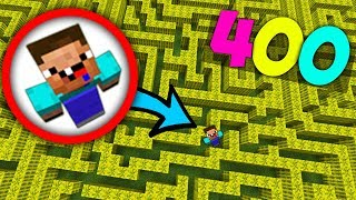 Download Нуб против 400 Лабиринт Испытаний в Майнкрафт! Сложные паркур! Minecraft Ловушки Неудачник Мультик Video
