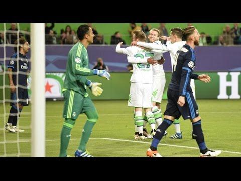 Wolfsburg vs Real Madrid 2 0 All Goals & Highlights Champions League 6/4/2016