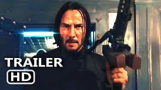 JOHN WICK 3 Trailer Teaser (2019) Keanu Reeves Action Movie HD