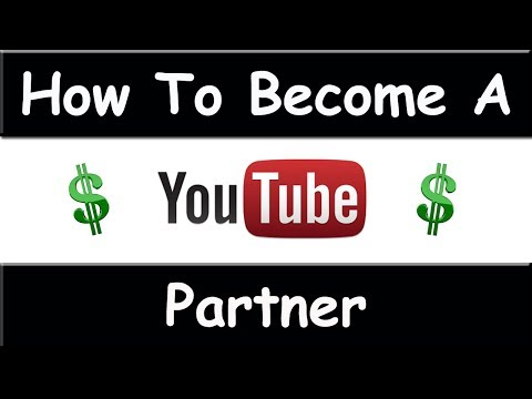 How To Become A YouTube Partner - August 2014 ( EASY )