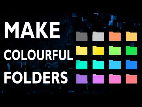 How To Make Colourful Folder (