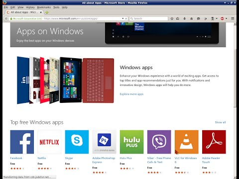 Microsoft App Store - Microsoft Opens PC, Phone, Tablet Apps Store