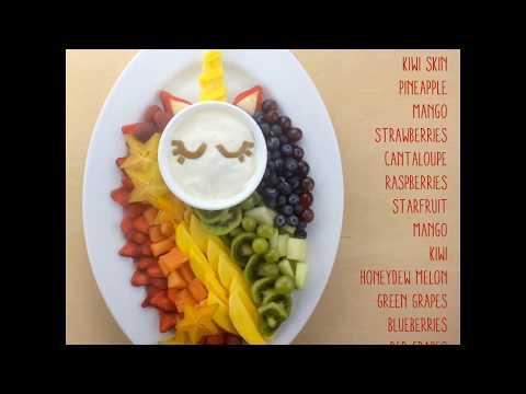 Unicorn Fruit Tray | Magical Fruit Platter Idea - The Produce Moms